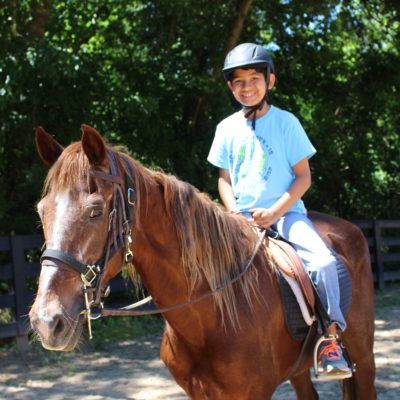 Horseback riding: Roxy
