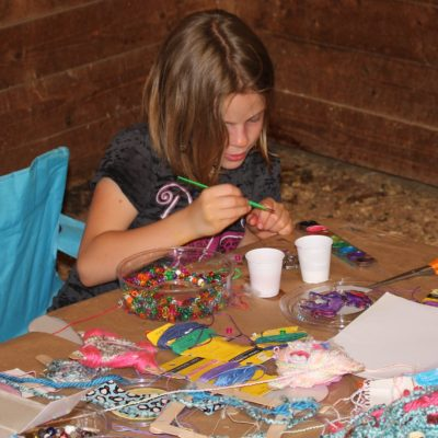 Arts and crafts:  jewelry making